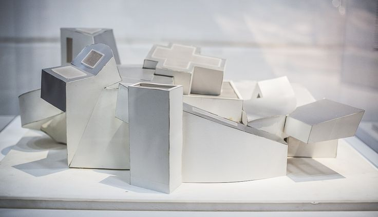 frank gehry, centre pompidou, maquette, vitra design museum ©catherinevernet