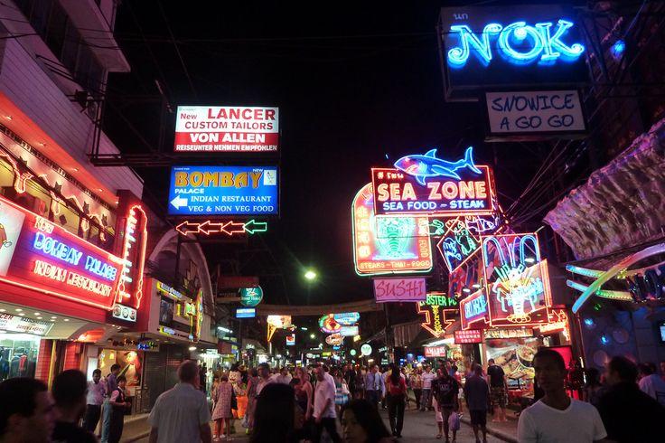 Walking Street Pattaya Thailand #thailand #nightlife #pattaya #tequilareef