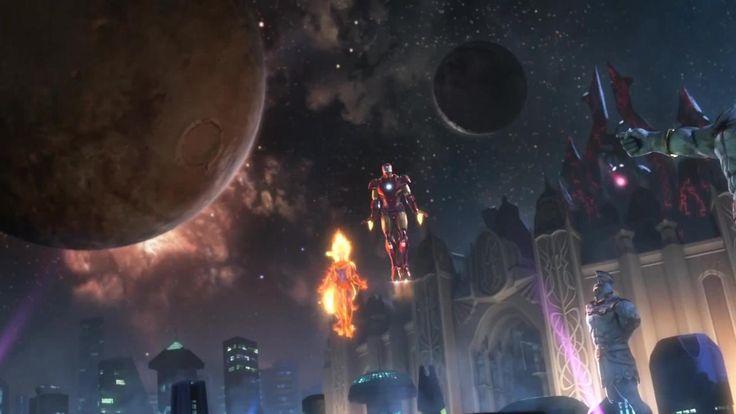 Marvel vs. Capcom: Infinite - PSX 2016: Reveal Trailer - PS4 [HD]