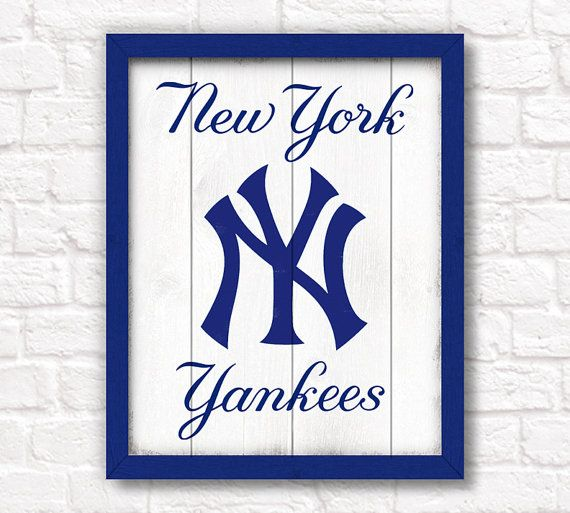 New York Yankees Home Decor: 46 Best Yankees Logo Images On Pinterest