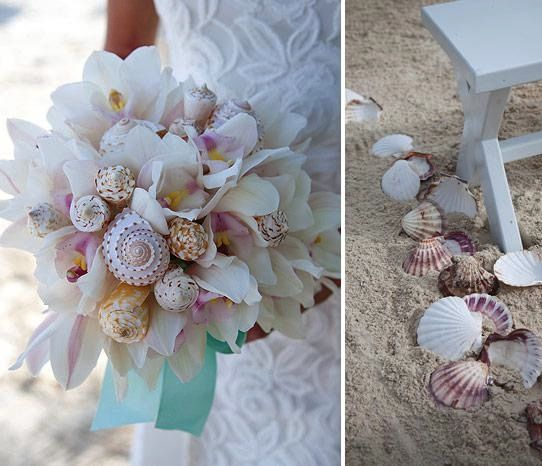 Beach Wedding Bouquet Cool We Could Use Any Kind Of Flower