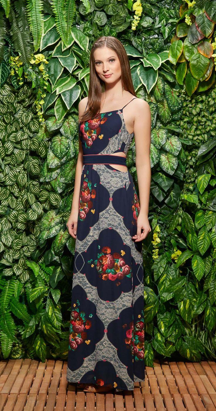 Vestido Longo Saudades de Madri | Lookbook | Antix Store