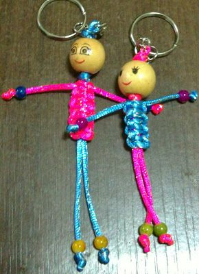 Touchy Craft- DIY Chinese Knot Keychain- Video