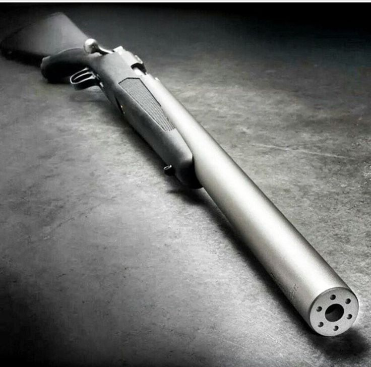 Integrally suppressed Ruger .44