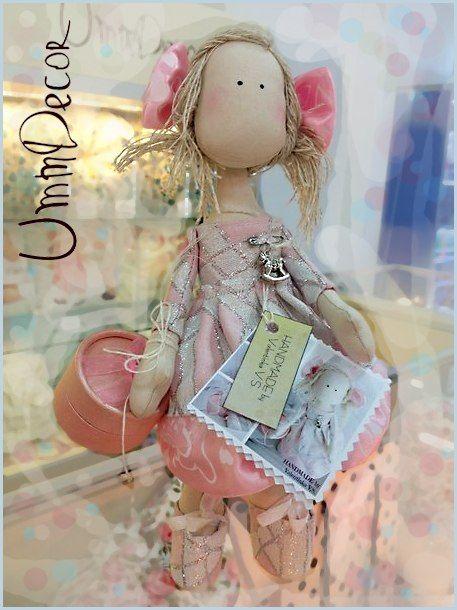 Decorative toy Tilda Декоративная игрушка, Тильда