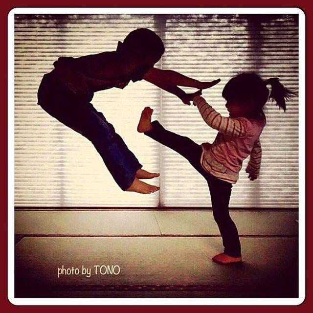 martialartsgymgirls's photo on Instagram. Cute martial arts humor