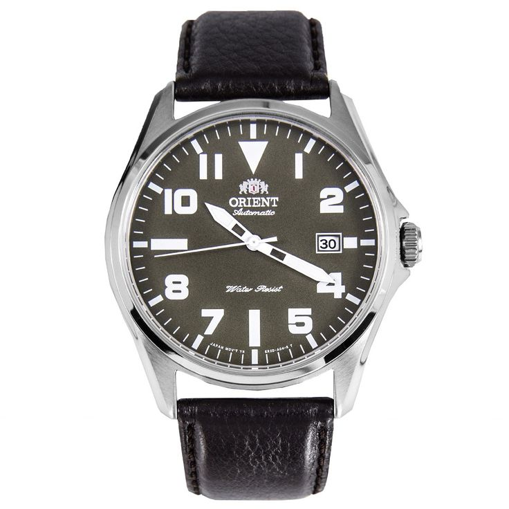 Orient Automatic Green Dial Mens Military Watch ER2D009F