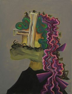 Exeter Contemporary Open 2014   Gorka Mohamed, 'Spanish Widow', 2014