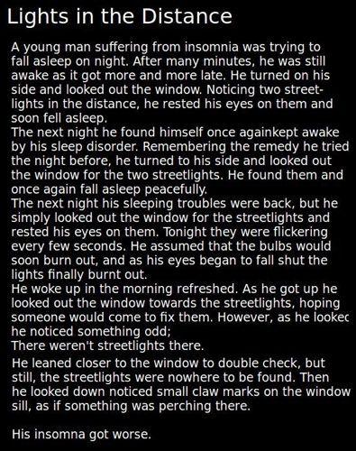 Creepypasta writing   horror # scary # the boogie man