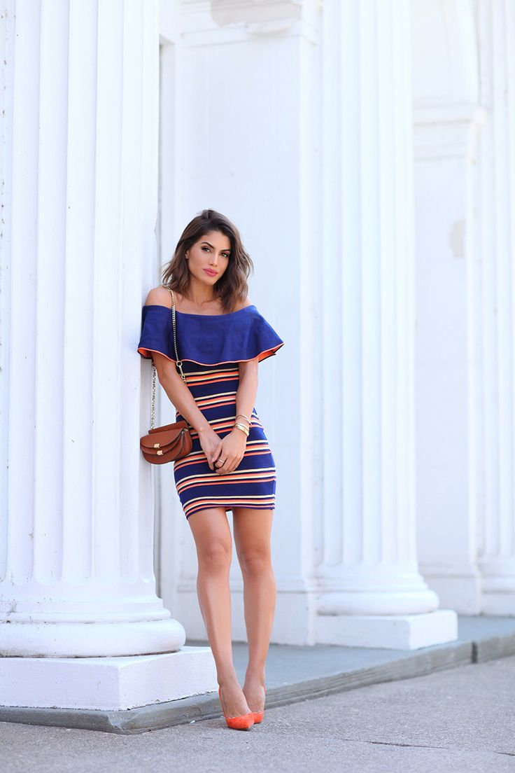Look vestido ombro a ombro camila coelho blog