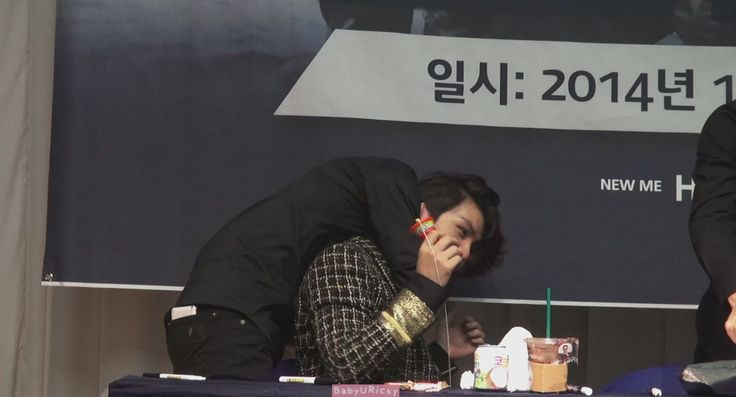 "[HD*Fancam] 141012 Teen Top - (Ricky Focus) Mokdong ""Missing"" fansigning..."