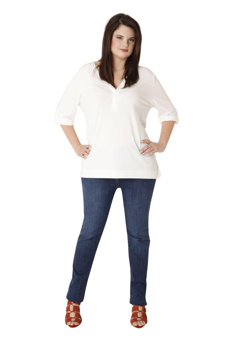Slim fit jeans by Parabita