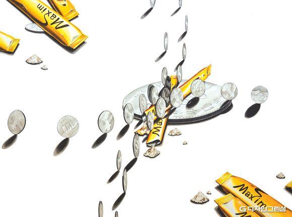 허쌤의 미대입시 정보 모음 :: 2016 한양대 숙명여대 서울과기대 미대 수시 기초디자인 합격생 재현작