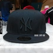 New Era Cap – NY New York Yankees – Black Black  Visit our webstore to grab it!!  #newera #topi #caps #hats #baseball #mlb #skateboard #hiphop #bboy #dance #59fifty #fitted #snapback #losangeles #la #dodgers #gelorajersey