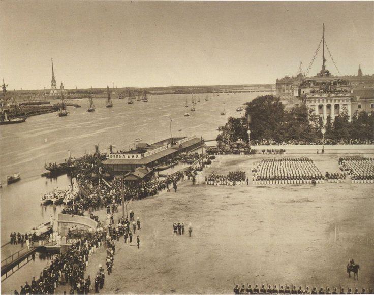 Сенатская площадь.  1872 г.