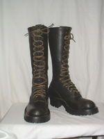 "Mens Whites 17 1/2"" Tall Black Lineman Boots Size 12.5C"