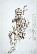 A Human Skeleton  by James Ward