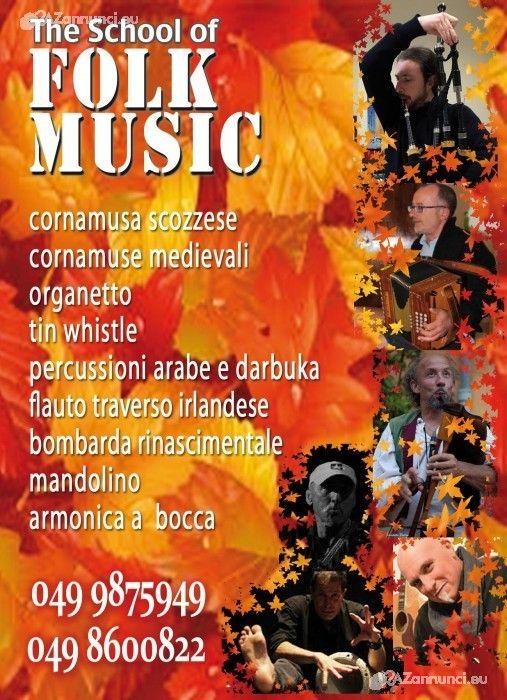 Lezioni di musica folk
