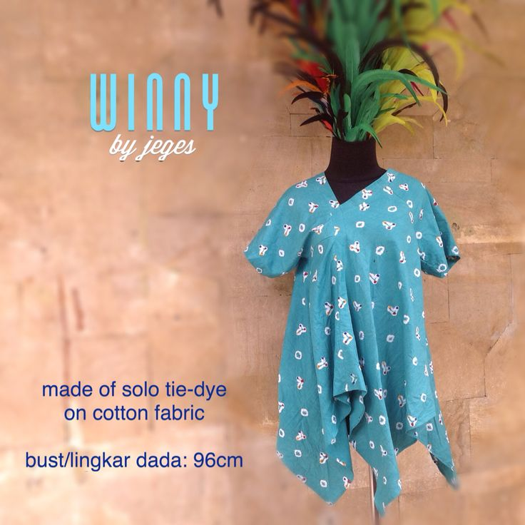 WINNY blouse by #jeges made of Solo traditional tie-dye cotton fabric with asymetric cut  available at www.facebook.com/jeges.nusantara or contact us @ #0811882996  #jeges #indonesia #ethnic #fashion #tiedye #jumputan