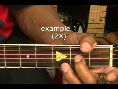 How To Play Your Very First BLUES GUITAR SOLO Prt 1 Lesson EricBlackmonMusic - YouTube