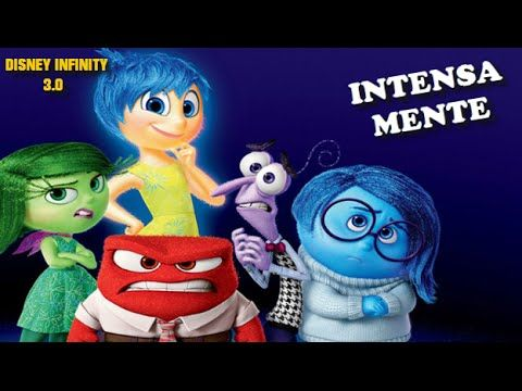 Del Revés (inside out) ESPAÑOL PELICULA COMPLETA del juego Disney Infinity l Full Movie Game - YouTube