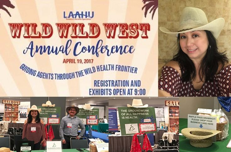 What a great conference organized by the Los Angeles Association of Health Underwriters (LAAHU)! The Wellness Institute attended the Wild Wild West Annual Conference at the Los Angeles Convention Center last week. Of course, the representatives of The Wellness Institute dressed in proper Wild West attire (yeehaw!). It was great to reconnect with old friends, and make new connections in the health insurance industry. It was a day full of activity and information. We also learned what was…