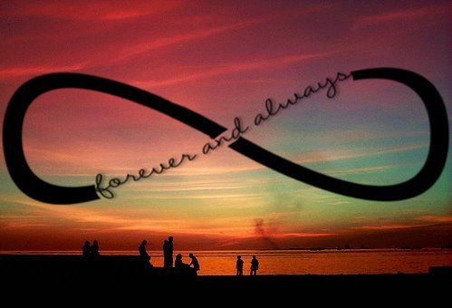forever and always: Love, Tattoo Ideas, Quotes, Infinity Tattoo, Forever, Tattoo Inspiration, Phrases, A Tattoo, Things