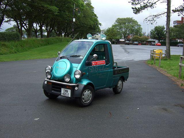 Daihatsu Midget 2 Don't ever get hit in one.