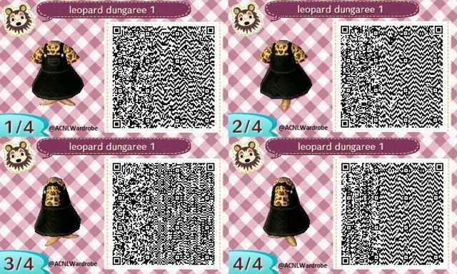 Dress Leopard print top amp black dungaree dress Animal