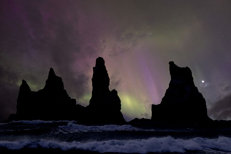 The northern lights, Iceland. Getty Images.