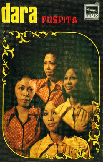Dara Puspita (al-girl Indonesian garage  band, circa 1967)