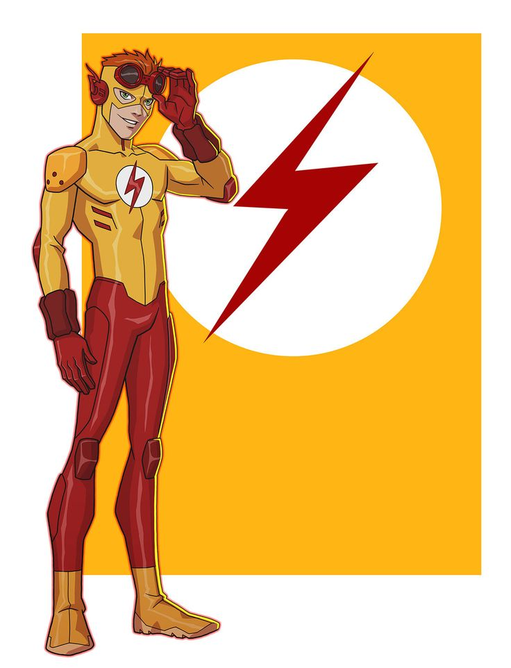 YOUNG JUSTICE: KID FLASH by Jerome-K-Moore on DeviantArt