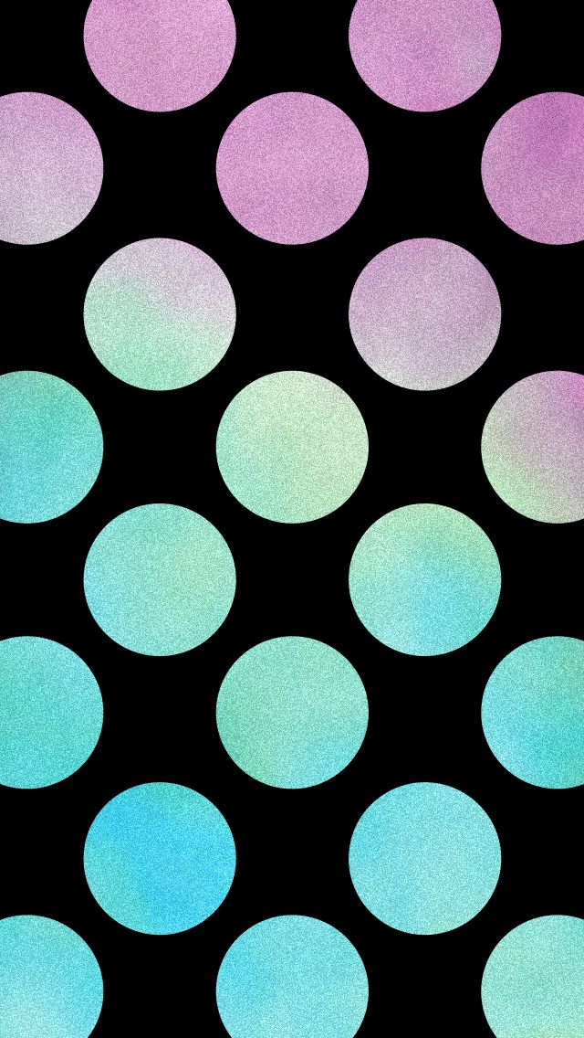 Textured Dots in Black: These textured polka dots have a little bit of cosmic edge to them.