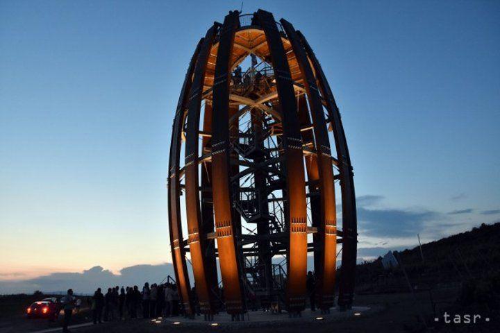 Tokaj watch tower, Košice region, Slovakia