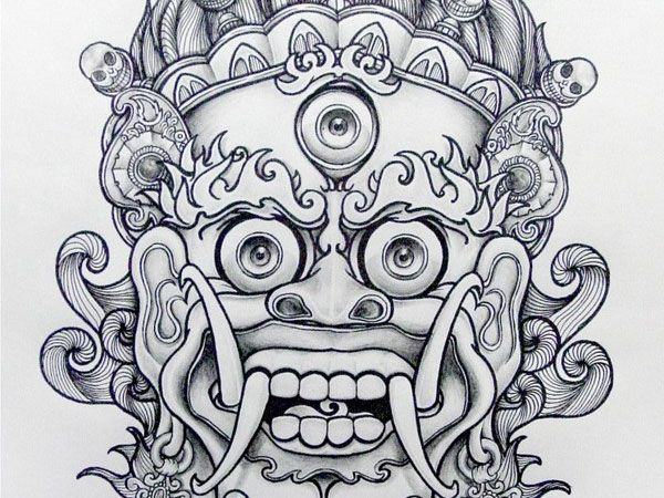 Demon 34 Magical Tattoo Drawings Fashion Pop Pinterest