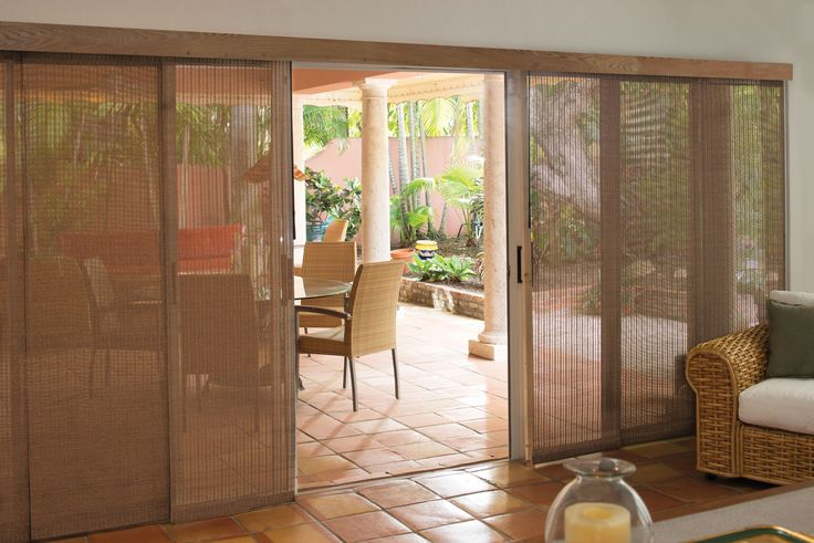 Levolor Panel Track Blinds - Woven Wood