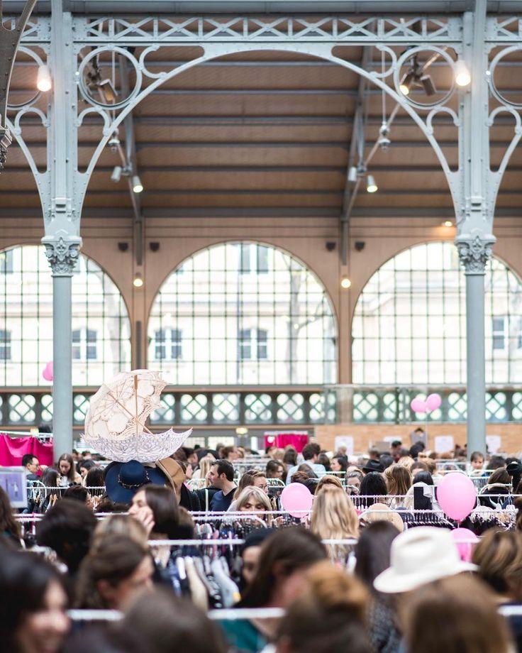 Vide-dressing Géant Violette Sauvage au CARREAU DU TEMPLE - SAVE THE DATE LE 31 MARS 2018