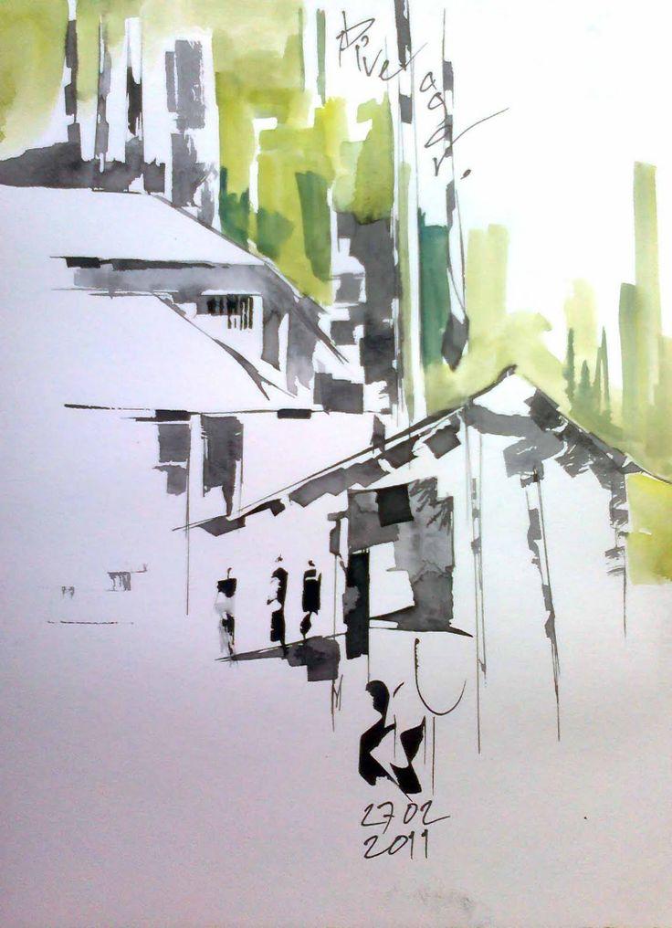 Diveagar visit | Urban Sketchers