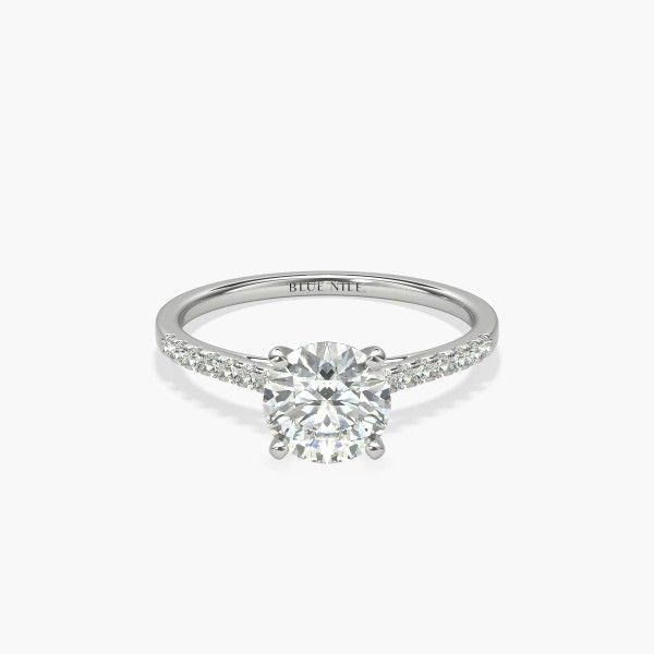 Build Your Own Ring Setting Details In 2020 14k Engagement Ring Diamond Wedding Bands Engagement Rings Sapphire