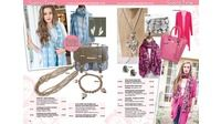 Pinks and Blues - Glam Catalogue Spring 2014