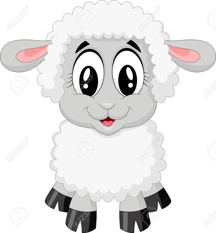 cute baby sheep cartoon - Pesquisa Google