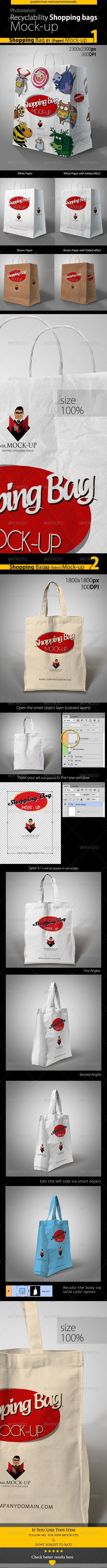 Paper & Cotton Shopping Bag Mockup Download here: https://graphicriver.net/item/paper-cotton-shopping-bag-mockup/5548178?ref=KlitVogli