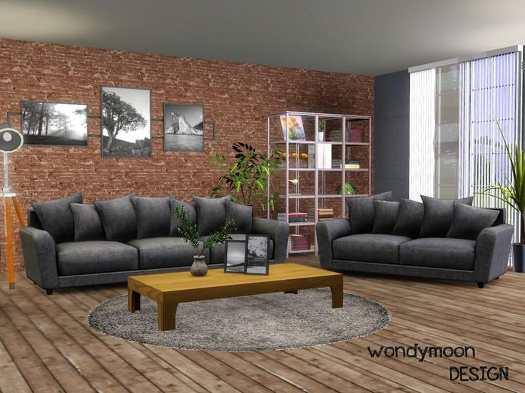 Hydrogen Living Found In TSR Category U0027Sims 3 Living Room Setsu0027 Part 72