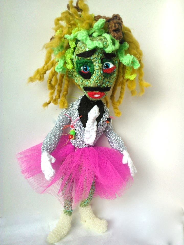I'm Old Gregg pinned with Pinvolve : The Mighty Boosh, Old Gregg in Crochet form! Awesome!!!