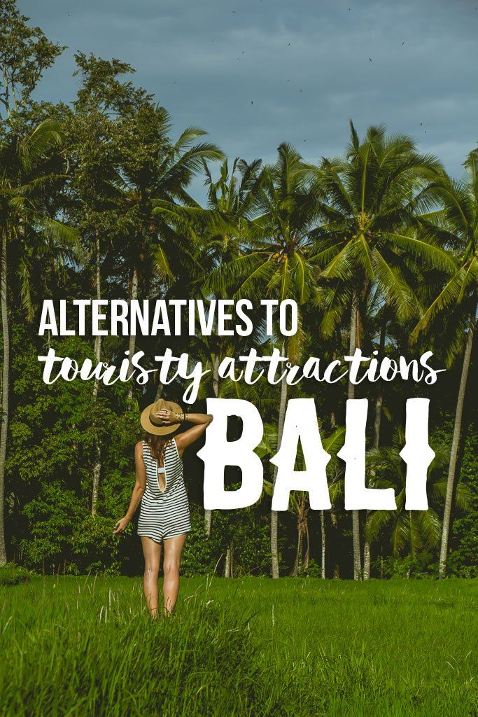 Touristy Things to do in Bali
