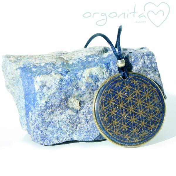 Orgonita con la Flor de la Vida y LAPISLAZULI - Orgonita | ORGONITAS personalizadas | ORGON |ORGONITE | Orgonites - (Powered by CubeCart)