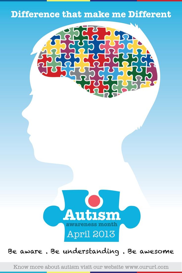 Autism Awareness Month - Poster 3   autism awareness month ...