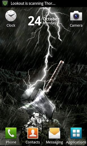thor mjolnir live wallpaper 1 2 download free trial on live wall id=31290