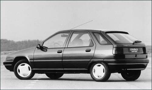 Citroen ZX diesel - burgundy