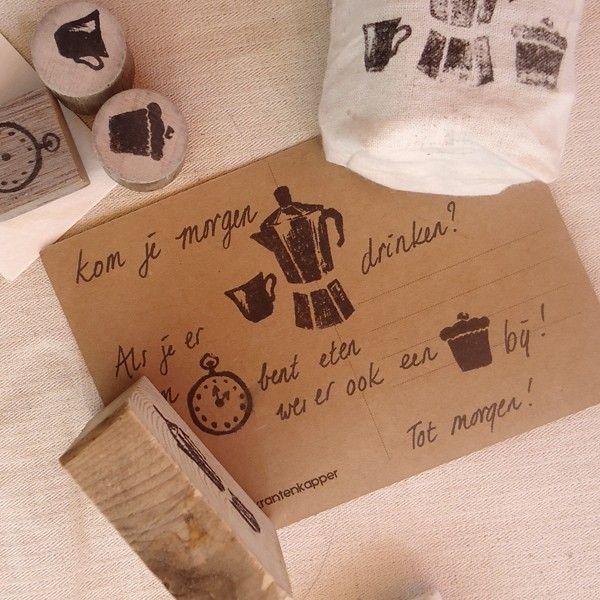 De Krantenkapper stempels - stamps en veel meer leuks by www.happypaper.nl. Nu ook bij Webshops Only concept store, Vughterstraat 47 's-Hertogenbosch  #dekrantenkapper #happypaper #stempels #stamps #stationary #webshopsonly #conceptstore